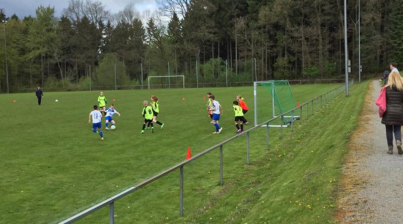 D1-Jugend: 5:1 Sieg gegen die JSG Hügelland