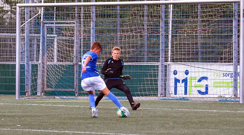 Neue C-Junioren: 6:0 über Bezirksligisten Hövelhof