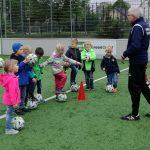 Der Fußball wird mein Freund – trainieren für den Kindergarten-Cup am 12. Mai