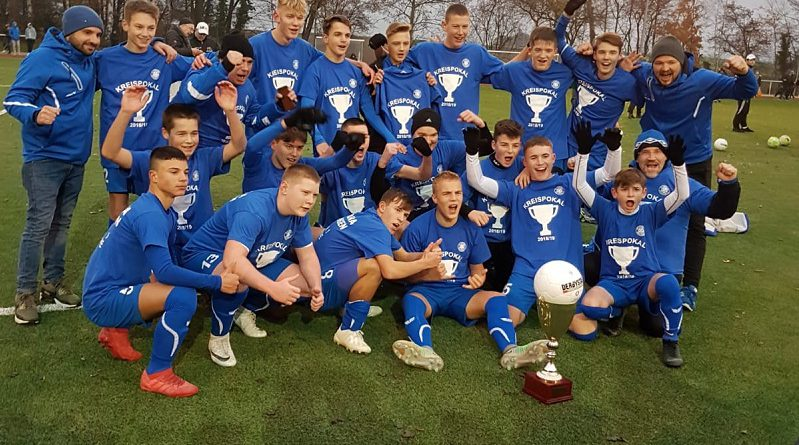 Fortunas Meisterteams B- und D-Junioren in der Aufstiegsrunde zur Bezirksklasse
