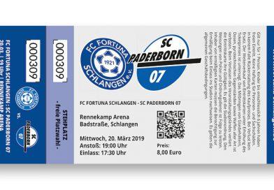 Tickets für SC Paderborn 07 Spiel