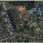 Anreise und Parkmöglichkeiten Fußballplatz Rennekamp Schlangen
