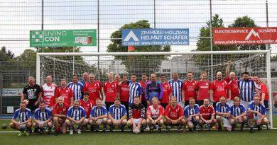 Handball-Fußball-Spiel