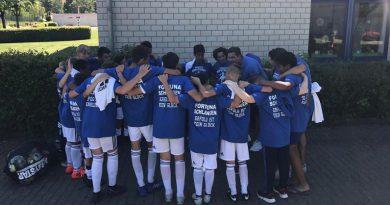 Die D Junioren feiern den Aufstieg – Erfolg ist kein Glück
