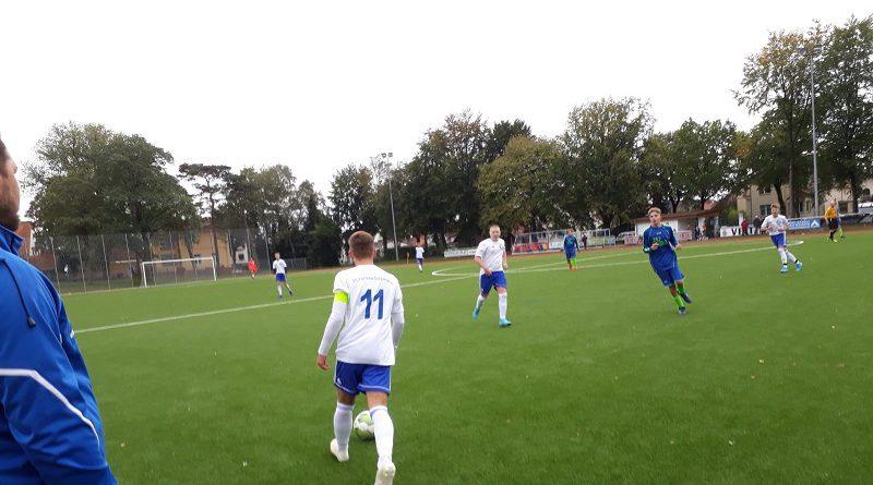 B-Jugend mit 16:0 Sieg und weißer Weste