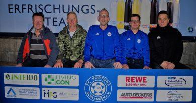 Fortuna Schlangens 1. Mannschaft startet mit neuem Trainerduo in die Saison 2020/2021