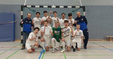 Riesenerfolg: Jungjahrgang der C-Jugend wird Kreishallenmeister