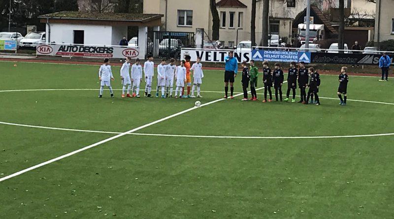 U13 mit unnötiger Niederlage gegen den SC Wiedenbrück