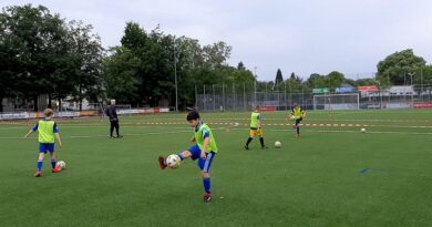 Fortuna kann es: Training im Abstandsmodus