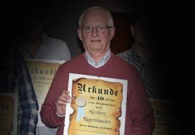 Wir trauern um unser langjähriges Vereinsmitglied Herbert Riepenhausen, der am 14. November 2020 verstarb.